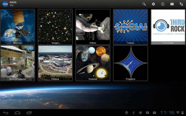 NASA launches Android App