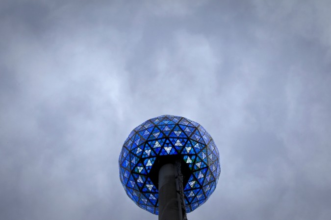 The Times Square New Year's Eve ball