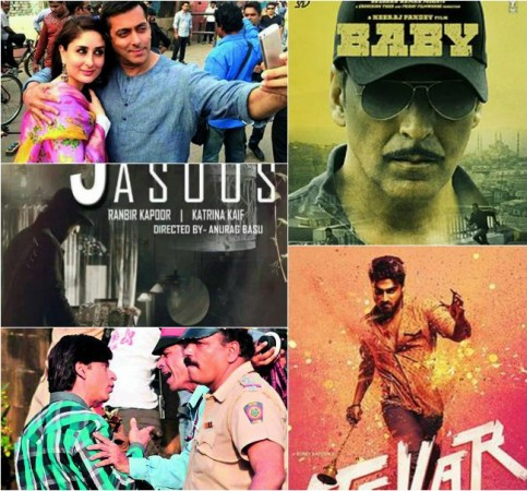 'Tever', 'Fan', 'Bajrangi Bhaijaan', 'Jagga Jasoos', 'Baby', other Much-awaited Bollywood movies of 2015