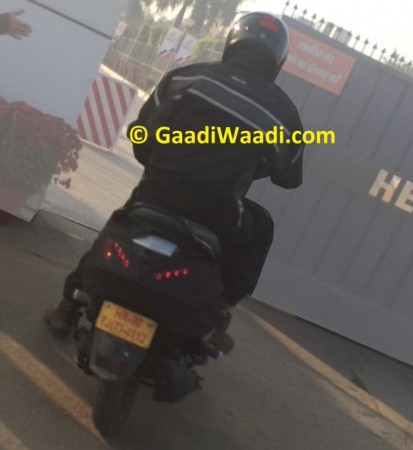 Hero Dash Scooter Spied Testing for First Time; Expected Launch, Price Details