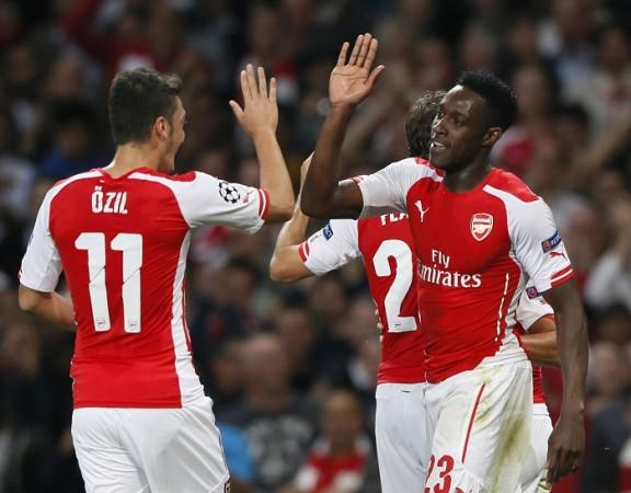 Mesut Ozil Arsenal Danny Welbeck