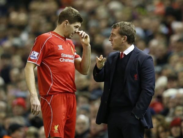 Steven Gerrard Liverpool Brendan Rodgers