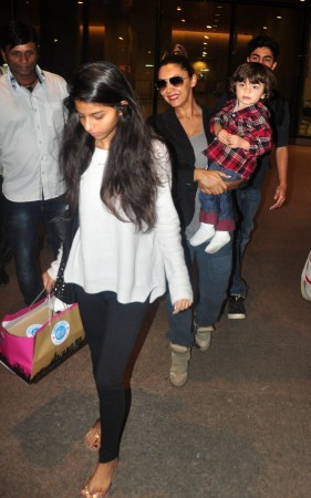 Celebs spotted at Mumbai Airport
