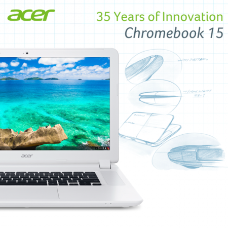Acer Launches Largest Ever Chromebook With 15.6-inch Display