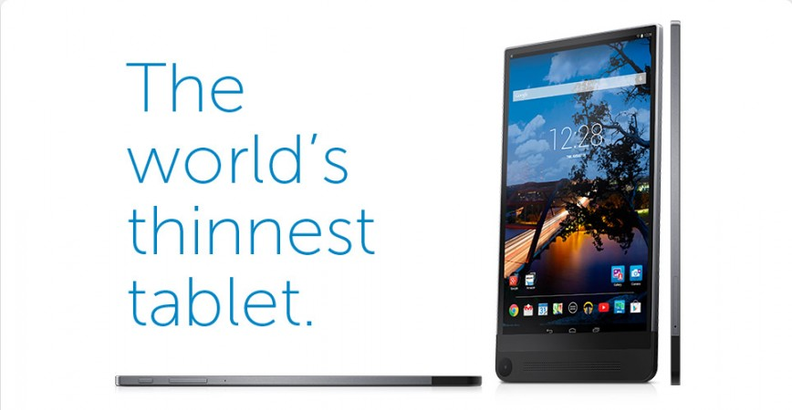 Dell Finally Starts Selling World's Slimmest Venue 8 7840 In U.S; Best Buy Lists Tablet For $399