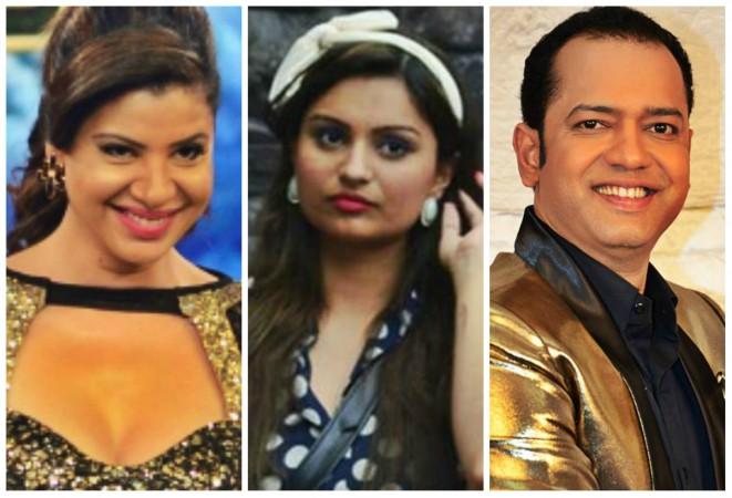 Sambhavna Seth, Dimpy Mahajan, Rahul Mahajan