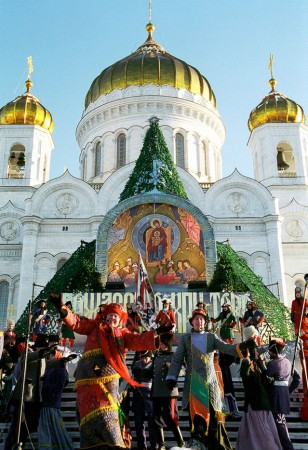 Many orthodox Christians from around the world celebrate the Christmas Day on or near January 7.