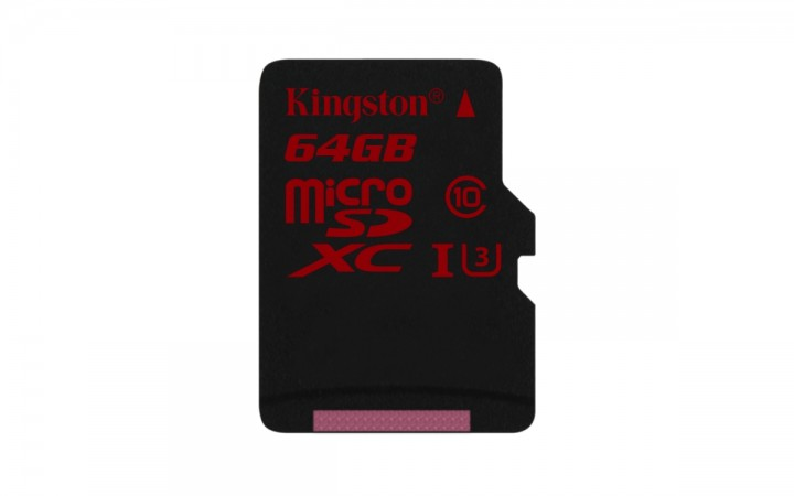 Kingston Releases Ultra High-Speed microSD For 4K and HD Video Capture