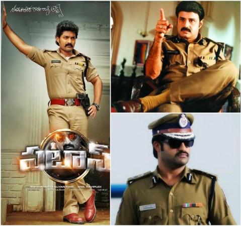 Balakrishna, Junior NTR, Kalyan Ram Don Police Getup in 'Lion', 'Temper', 'Pataas'