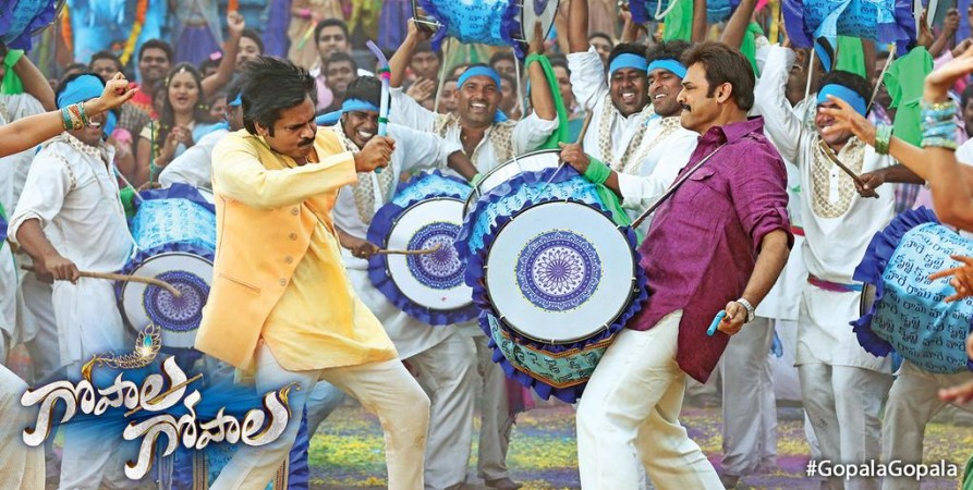 Pawan Kalyan and Venkatesh in Gopala Gopala