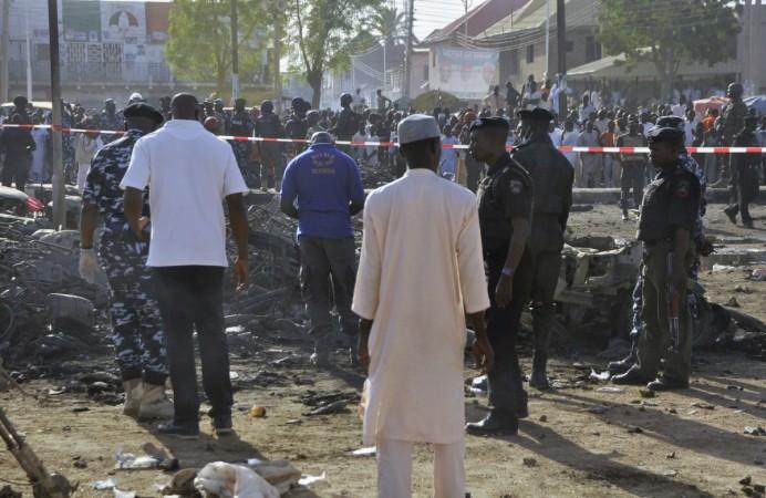 Boko Haram child suicide bomber