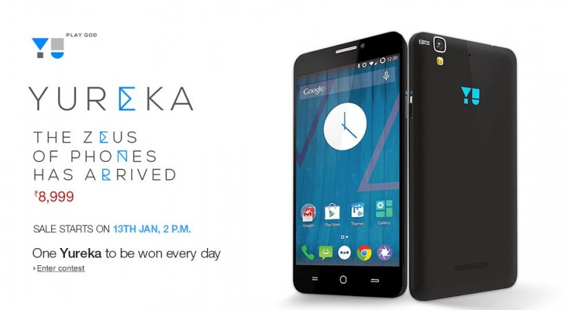Micromax YU Yureka Amazon India Flash Sale Kicks-off on 13 January; 10,000 Units up for Grabs