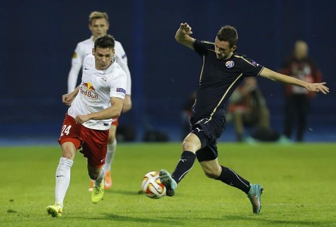 Marcelo Brozovic Dinamo Zagreb Salzburg Christoph Leitgeb
