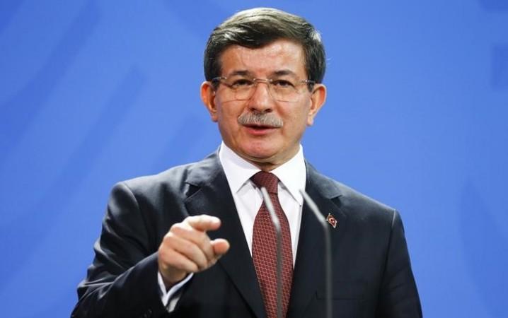 Turkish Prime Minister Ahmet Davutoglu on Thursday compared PM Benjamin Netanyahu to Paris gunmen.