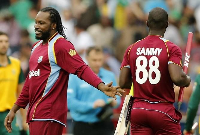 Chris Gayle Darren Sammy West Indies