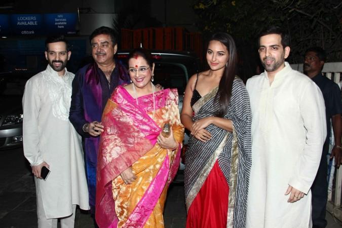 Sonakshi Sinha Family