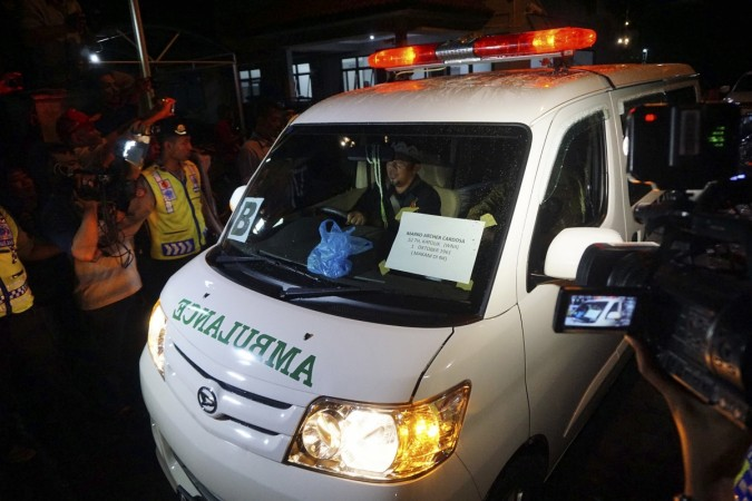 ody of Brazilian prisoner Marco Archer Cardoso Moreira from Nusa Kambangan prison