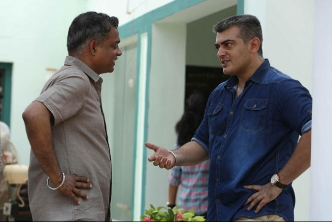 Ajith with Gautham Menon