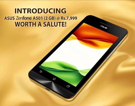 New Asus Zenfone 5 Variant with Dual-Core Intel Atom SoC Released in India; Price, Specifications