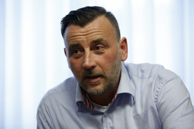 Lutz Bachmann leader of PEGIDA
