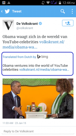 Twitter introduces Bing Powered translation service