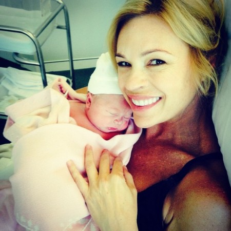 Lisa Campbell posts photos of proud mama Sonia Kruger and the newbornLisa Campbell posts photos of proud mama Sonia Kruger and the newborn