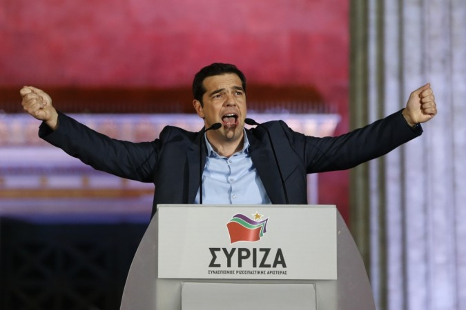 Syriza party leader Alexis Tsipras wins the Greece Elections