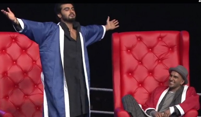 Arjun Kapoor, Ranveer Singh on 'AIB Knockout'