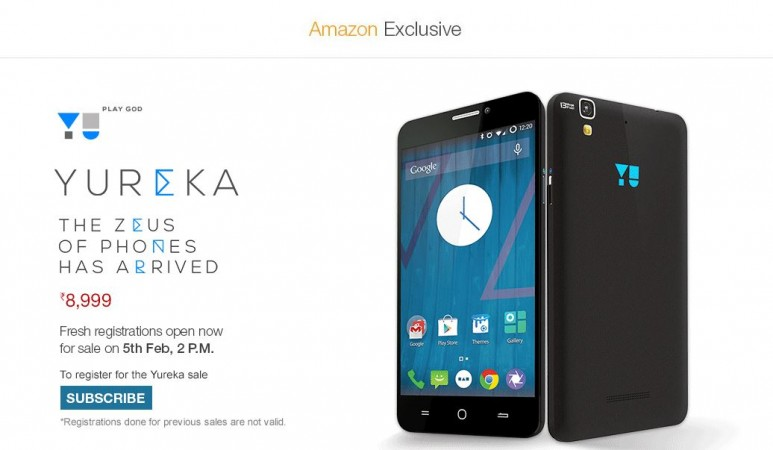 Micromax YU Yureka Registration Service Goes Live on Amazon India; Company Promises to Double Inventory Capacity Next Month