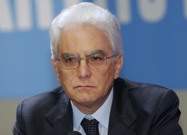 Sergio Mattarella Italy President