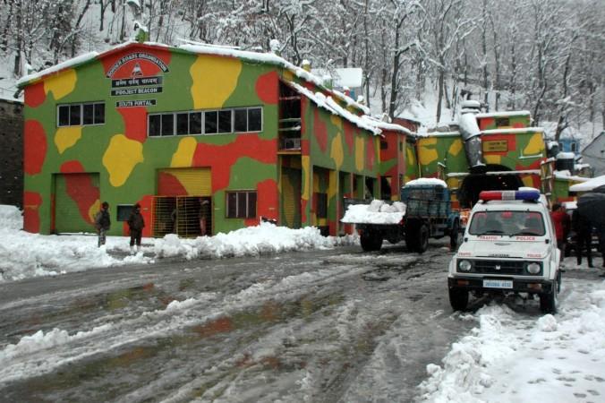 Jammu and Kashmir snowfall