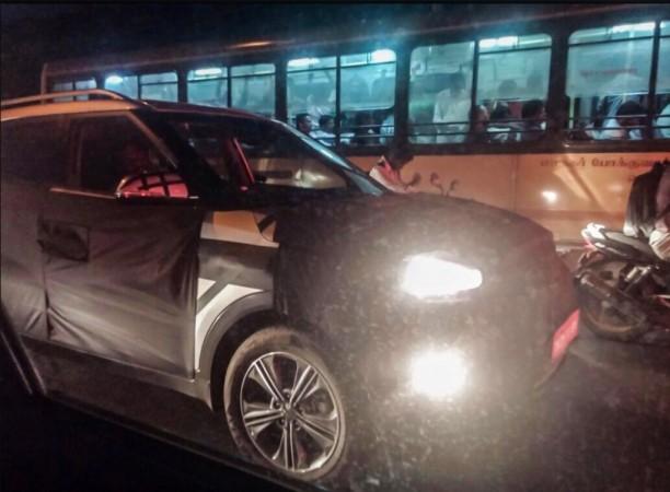 Hyundai ix25 Compact SUV Spied Testing