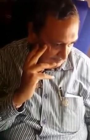 Businessman who allegedly molested a woman on Indigo flight.