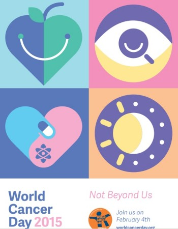 Here is the theme for World Cancer Day 2015 and top 10 important facts to know about the disease.