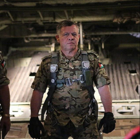 Reports on claim that Jordan's King Abdullah is participating in airstrikes against ISIS.