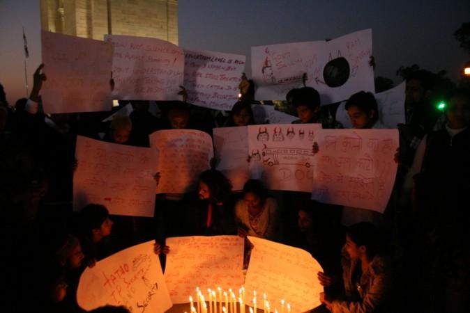 Rape Candle light