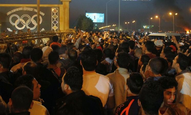 Cairo football riot