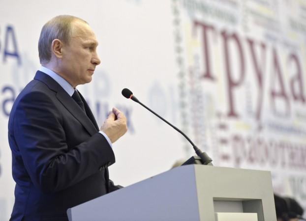 Russian President Vladimir Putin has said his country was