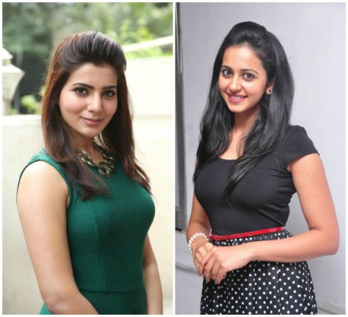 Rakul Preet Singh and Samantha