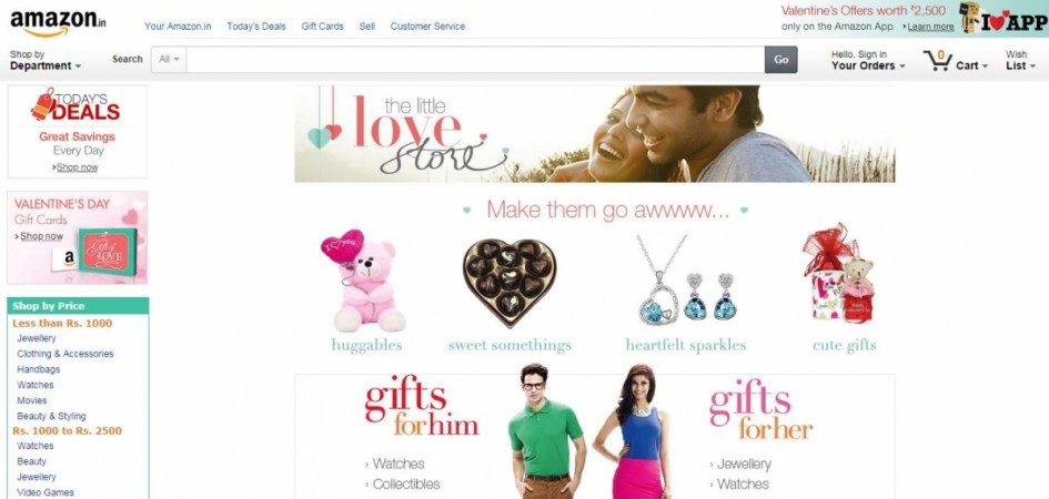 Amazon India Valentine's Day 2015 Celebration Sale: Top Deals on Smartphones Offer up to 50% Discount