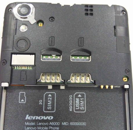 Lenovo A6000 Connectivity