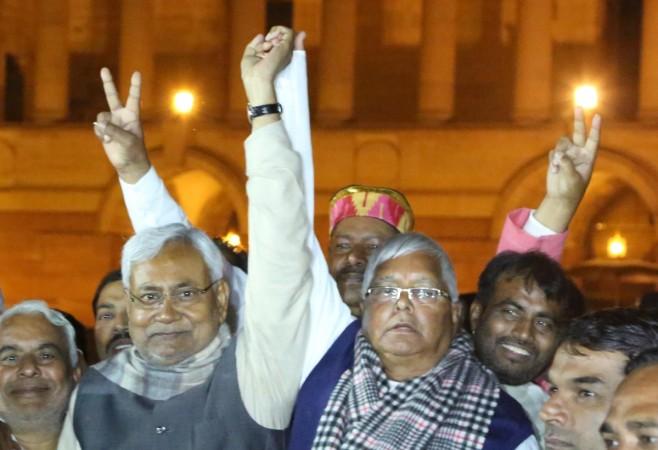 Nitish Kumar Lalu Prasad