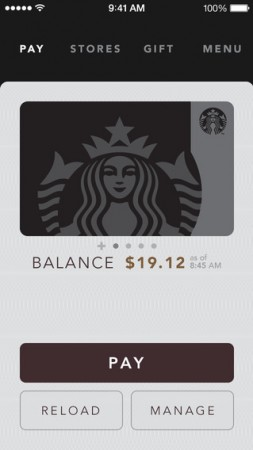Starbucks Adds Apple Pay Support In iOS App, But You Can't Use Your iPhone To Pay For Latte