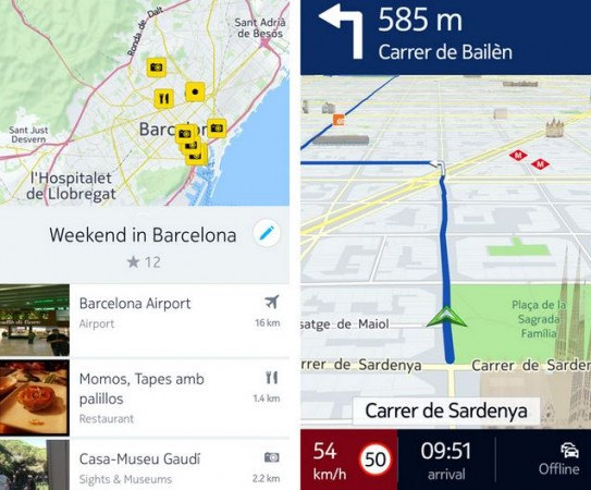 New Nokia HERE Navigation App Released on Google Play Store with Enhanced 3D Venue Guide, Routing Feature and More