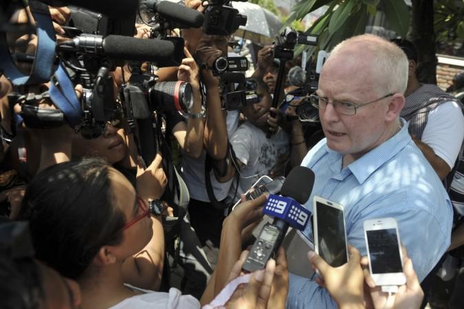 Australian lawyer Julian McMahon