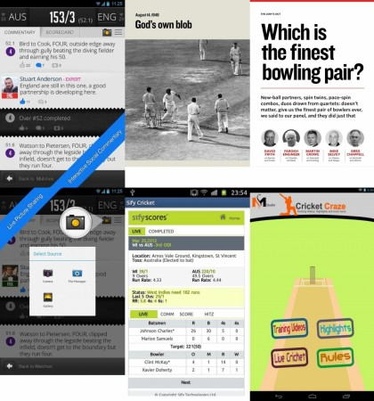 Cricket Apps Collage Image