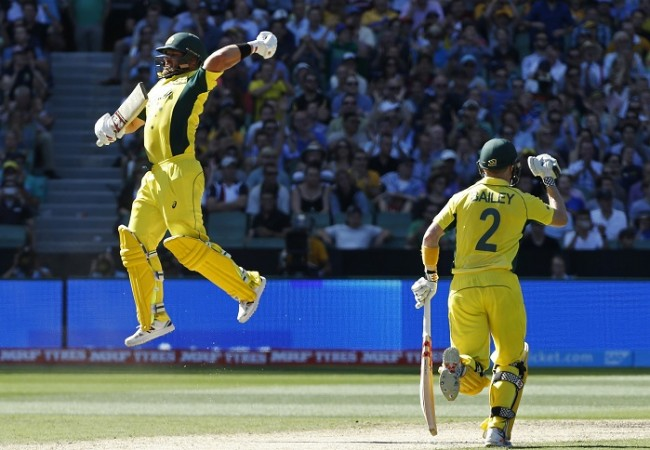 Aaron Finch George Bailey Australia World Cup