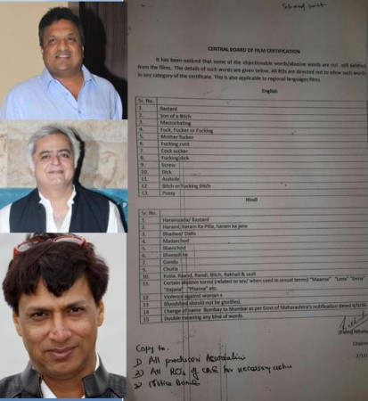 Filmmakers react to Censor Board banned words