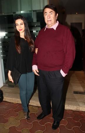 Kareena Kapoor Khan, Karisma Kapoor Celebrates Father Randhir Kapoor's 68th Birthday