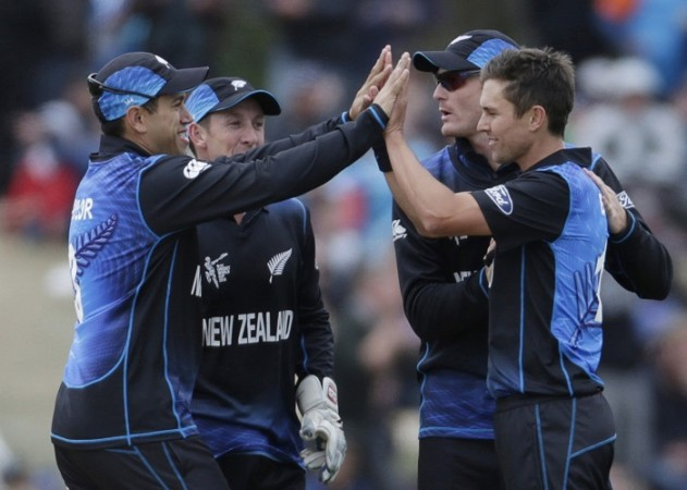 Trent Boult New Zealand Martin Guptill Ross Taylor